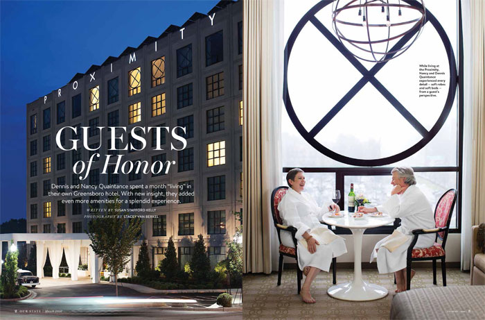 Our State Magazine Proximity Hotel Top 10 Hotels