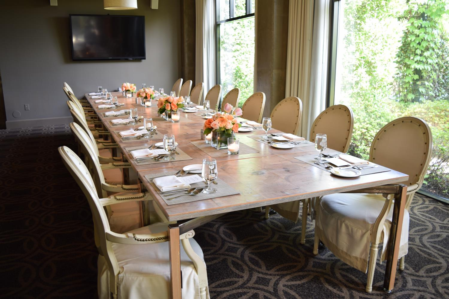 Latham Room, Group events and private dining Print Works Bistro and Proximity Hotel