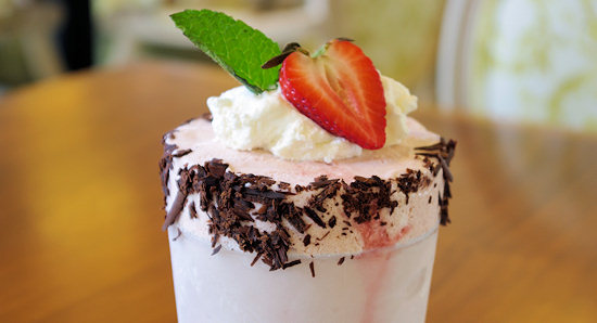 Print Works Bistro Strawberry Frozen Mousse Recipe