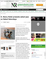 O.Henry Jazz, Triad Business Journal