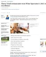 Wine Spectator article