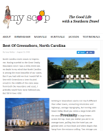 myscoop blog post on Proximity Hotel and Print Works Bistro