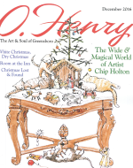 O.Henry Magazine Chip Holton artist in residence article