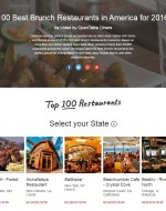 100 Best Brunch Restaurants Print Works Bistro, OpenTable