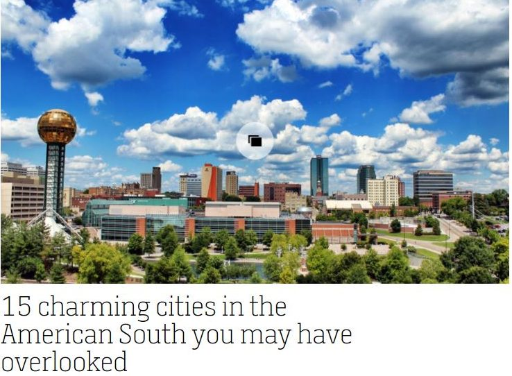 CNN Travel 15 Charming Cities in the South