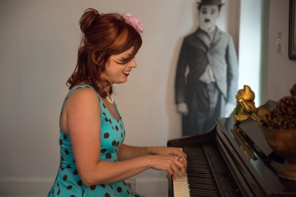 Jessica Mashburn Playing Piano