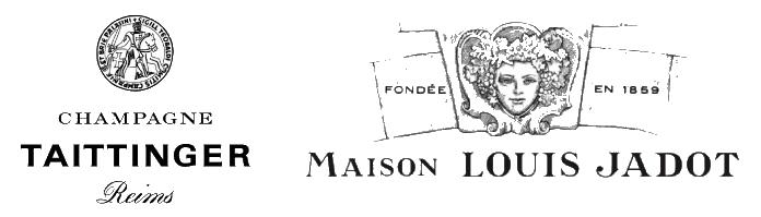 Taittinger Champagne and Maison Lousi Jadot Logos